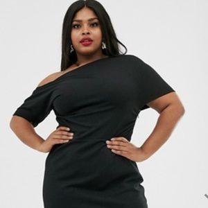 Asos Curve Black Dress (LBD), US Size 24